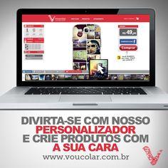 Vai www.voucolar.com.br