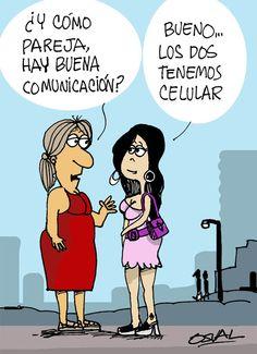 ¿Te parece familiar esta imagen? La comunicación es uno de los pilares de una #relaciondepareja , una comunicación efectiva se da cuando estamos de corazón para el otro, en total empatía!!! www.amoryexito.com Feliz jueves!!!