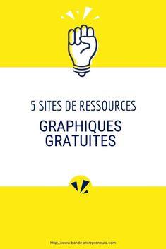 5 sites de ressources graphiques GRATUITES