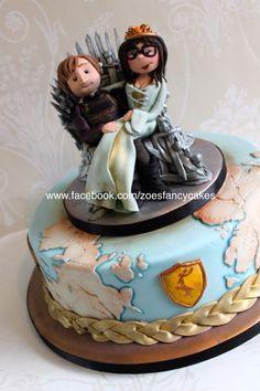 Game of Thrones wedding cake Cake Pinterest Wedding cake