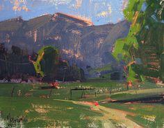 Jennifer McChristian, Path Less Traveled, 8x10 oil