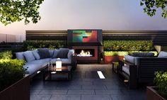 Chelsea Creek Dockside House - Aralia Garden Design