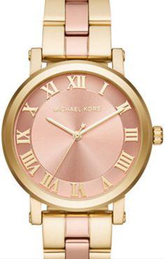d330daf221c6 Michael Kors Norie Ladies MK3586. Analog WatchesWomen s WatchesRose Gold ...