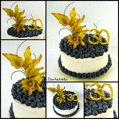 CAKE WITH FLOWER (Dort s květinou) Birthday Cake, Flower, Desserts, Food, Tailgate Desserts, Birthday Cakes, Deserts, Eten, Postres