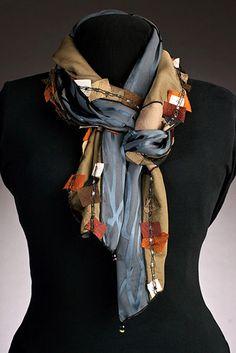 Elizabeth Garver Artwear | Scarves