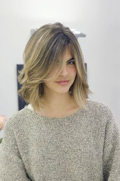 Shoulder Length Hair With Choppy Layers