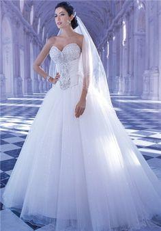 Beautiful princess ball gown wedding dress Wedding Dresses Photos 724ee1feaf20