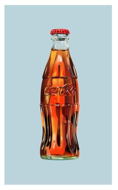 I like how the logo of Coca-Cola is imprinted in the bottle.
