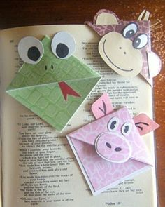 cute bookmarks by ceci.g