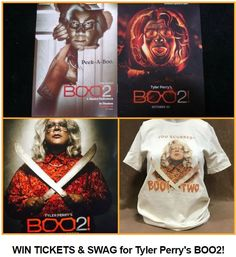 Time for @tylerperry #Boo2 @MadeaHalloween You Scurred? TTPromoboo via @tinseltine