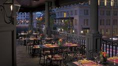 - The Veranda outdoor dining at The Ritz-Carlton, Atlanta