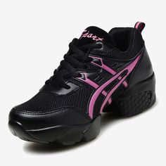 27.90$  Watch here - http://aliyge.shopchina.info/1/go.php?t=32715860517 - New Women Air Mesh Sports Dancing Sneakers Shoes Women's Line Dance Shoes Platform Girls Dancing Shoe Black On Sale 7313 27.90$ #buyonline