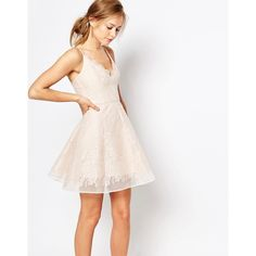 Keepsake - Minikleid aus Spitze - Rosa
