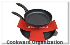 Swiss Diamond 5-Piece Felt Pan Protector Set** Check out the image by visiting the link.(It is Amazon affiliate link) #cookwareorganization