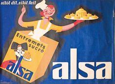 Alsa, entremets sucrés - illustration de Rohonyi -