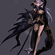 Female Character Design, Character Design References, Character Concept, Character Art, Concept Art, Character Inspiration, Fantasy Warrior, Dark Fantasy Art, Fantasy Girl