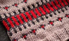 Gorgeous fair isle pattern