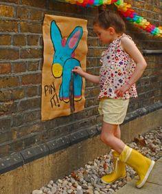 Girls' Fleece Lined Wellies in Yellow