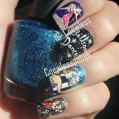 ballroom dance  by coewless  #nail #nails #nailart