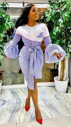 Source by ashleymudyirwa fashion dresses Classy Dress, Classy Outfits, Chic Outfits, Dress Outfits, Fashion Outfits, Style Fashion, Short African Dresses, Latest African Fashion Dresses, African Print Fashion