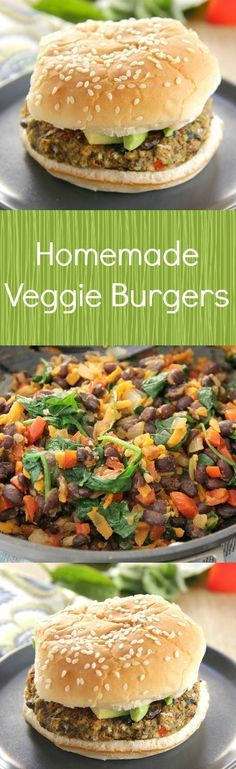 1000+ ideas about Homemade Veggie Burgers on Pinterest ...