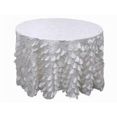 Petal Taffeta Tablecloth