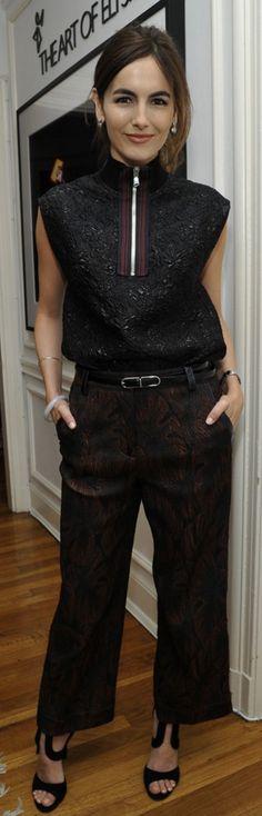 Camilla Belle wearing 3.1 Phillip Lim and Tamara Mellon