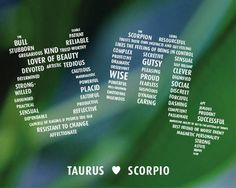 """Taurus LOVES Scorpio. Instant digital download. Frame it or use as a greeting card. Print on A4 and 8"""" x 10"""" and Letter Size. by PePoDesign on Etsy"""