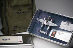 Design Work Life » Wynn Burton // fun idea to use for military memorabilia for someone