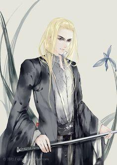 Thranduil fan art --- Трандуил