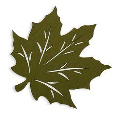 Felt leaves - Felt Leaf Placemat In Green – Felt leaves Felt Roses, Felt Flowers, Paper Flowers, Leaf Crafts, Shell Crafts, Resin Crafts, Yarn Crafts, Kirigami, Fall Felt Crafts