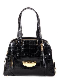 445b852f76 Sac Adjani noir croco porté épaule de chez Lancel, sublime mais qu'est-ce  qu'il est lourd!
