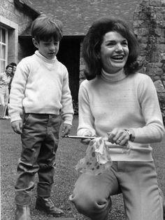 Jackie with John