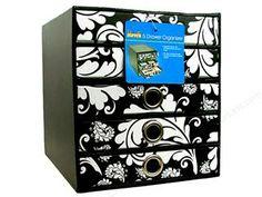 Cropper Hopper Cabinet Stamp Black & White