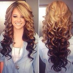 Hairstyle #long hair #style