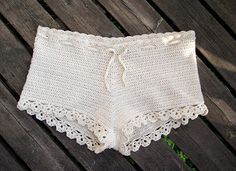 Free Crocheted Shorts Pattern. Most Of It Is Translated to English But You May Need To Look On A Norwegian Crochet Chart For Some Terms. So Beautiful. From http://virkstaden.blogspot.se/2011/06/virkade-shorts-nastan-nastan-exakt.html