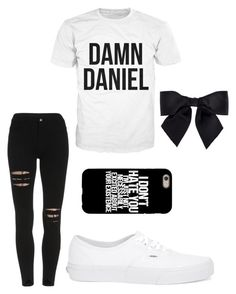 Damn Daniel by alisha-dovey on Polyvore featuring polyvore, fashion, style, Vans, Chanel and clothing