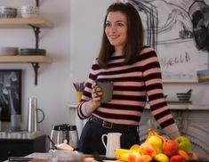 How Anne Hathaway's Chic Wardrobe in The Intern Influenced Her Off-Screen Style from InStyle.com