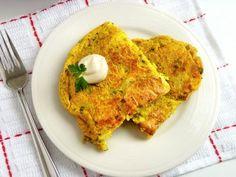 Spanish potato tortilla (vegan)