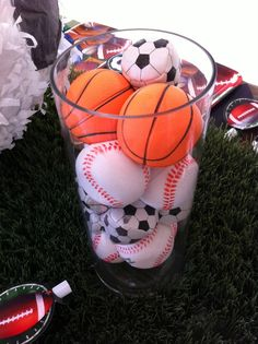 Sports Themed Kids Birthday Party 0058
