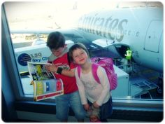 10 tips for surviving airplane travel with kids - A lot of these are really good (and I haven't seen them 500 times already)!