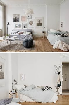 nice 88 Swedish Decor for Living Room with Small Spaces Apartment Room, Apartment Living, Small Spaces, Home Decor, House Interior, Home Deco, Studio Apartment Decorating, Feminine Apartment, Interior Design