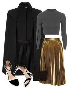 """Untitled #2216"" by dceee ❤ liked on Polyvore featuring Maje, Topshop, A.L.C., 49 Square Miles, Zara, women's clothing, women's fashion, women, female and woman"