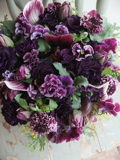 eustoma,pansy and orchid