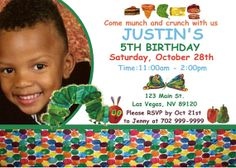 Very Hungry Caterpillar Invitations or Thank by Uniquewrapsbybj, $1.00