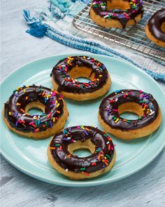 Dairy-Free Chocolate-Glazed Donuts Recipe by Tasty