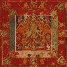 Mandala of Vasudhara,Tibet