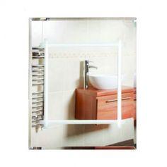 Illuminated Large Bathroom Mirror
