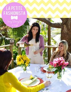 The third issue of La Petite Fashionista magazine features a DIY wine tasting soiree, beautiful brunches, a guide to mixing bikinis, advice on scoring a dream internship or job & a busy girl's guide to wellness + more!