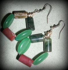 Genuine Emerald and Fancy Jasper Healing Power by ReadingsByAstrid, $12.50